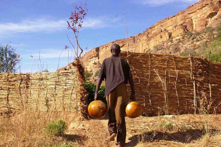 Irrigazione orti con calibasse